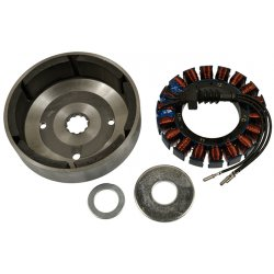 Stator/Rotor Kit Including Spacer, 38 AMP