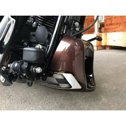 Frame Cover, Racing, Gloss Black