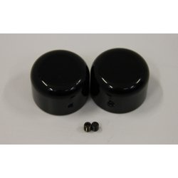 Front Axle Cover, Black