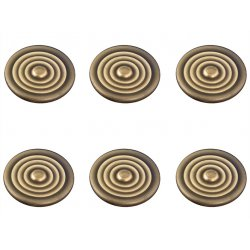 Badge Kit Without Logo, Brass Covert