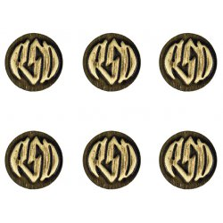 Badge Kit With Logo, Brass