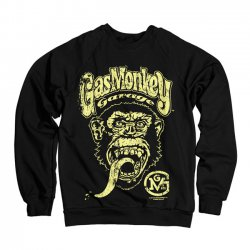 Sweat Shirt Gas Monkey Garage Big Brand Logo