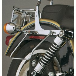 Chrome Saddlebag Supports