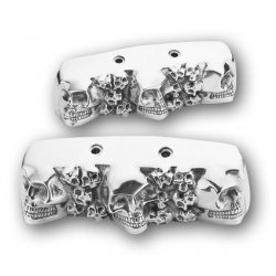 Skull Rocker Box End Covers