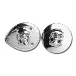 Skull Polished Aluminium