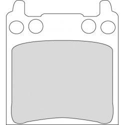 Brake Pad, Custom Caliper, Organic P-Compound