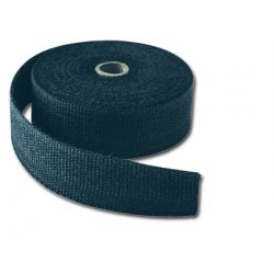 "Black Exhaust Wrap 2"" x 1/16"" x 50 Ft. Roll"