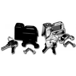 110013 HELMET LOCK CHROME 1 /