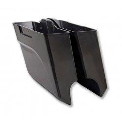 Arlen Ness Angled Bag Left Hand 97-13 FLT