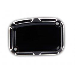 Arlen Ness Beveled Front Master Cylinder Covers, Black