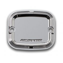 Arlen Ness Slot Track Front Master Cylinder Covers, Chrome