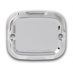 Arlen Ness Beveled Front Master Cylinder Covers, Chrome