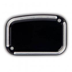 Arlen Ness Slot Track Front Brake Master Cylinder Covers, Black