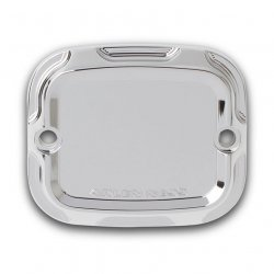 Arlen Ness Beveled Front Brake Master Cylinder Covers, Chrome