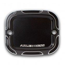 Arlen Ness Beveled Front Brake Master Cylinder Covers, Black