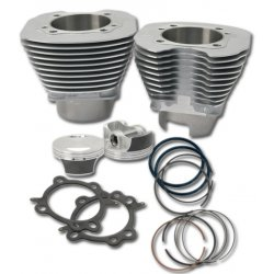 "S&S 106"" Big Bore Convertion Kit, Silver"