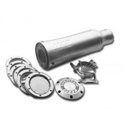 "SuperTrapp Universal Aluminium Muffler, 2"" Inlet"