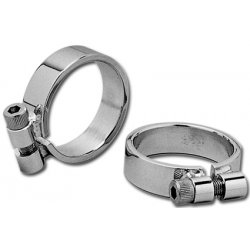 Aircraft Style Exhaust Clamp, Chrome