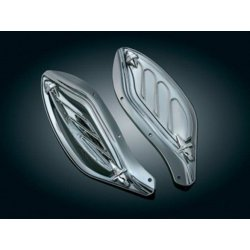 Dragon Wing Air Deflectors, reflective smoked
