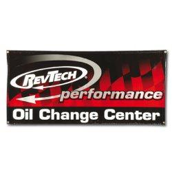 Rev Tech OIL CHANGE CENTER BANNER