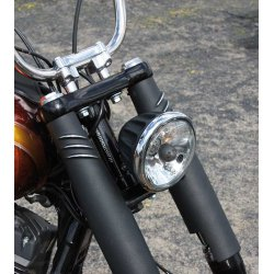 EMD Forktube Covers Bombshell 49mm black cut